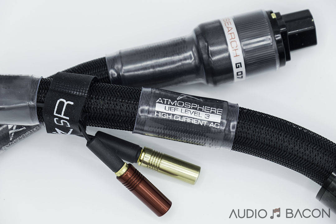 Synergistic Research Atmosphere UEF Level 3 HC Power Cord & BLACK Quantum Fuse Review
