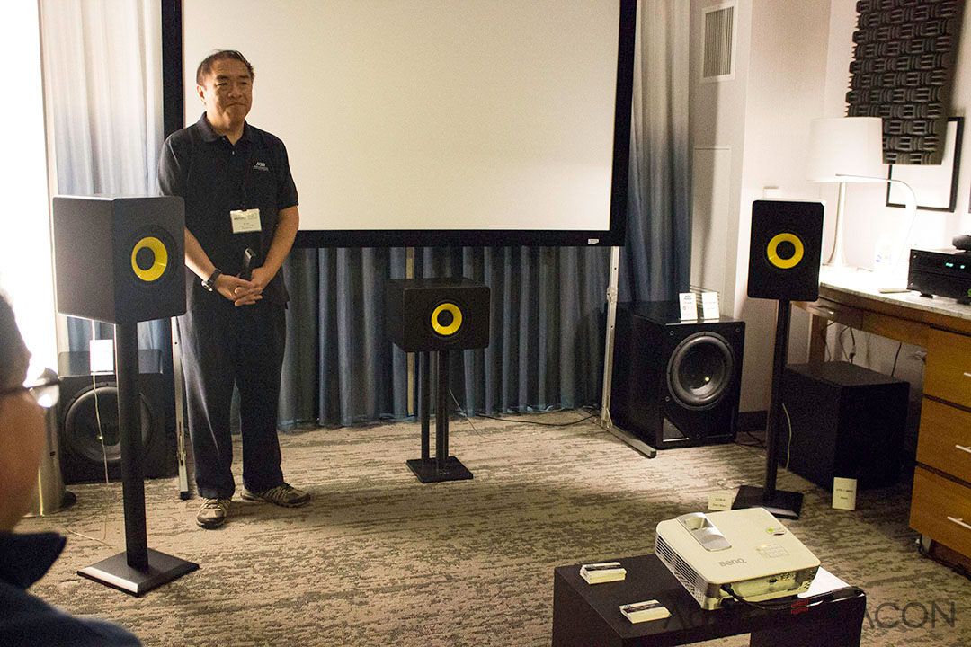 I Reviewed Dr Hsus CCB 8 Bookshelf Speakers A Little While Back And His Demo Only Reaffirmed How Great They Sound Quite Few Of The Attendees Jaws