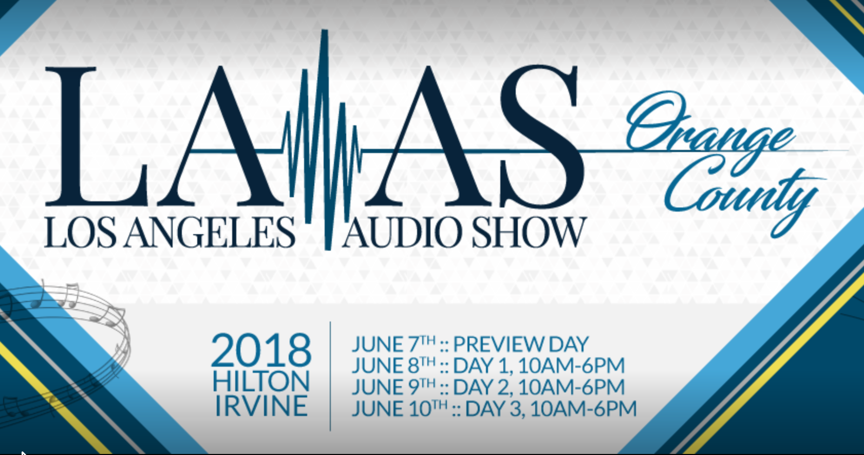 Los Angeles Audio Show 2018 Cancelled