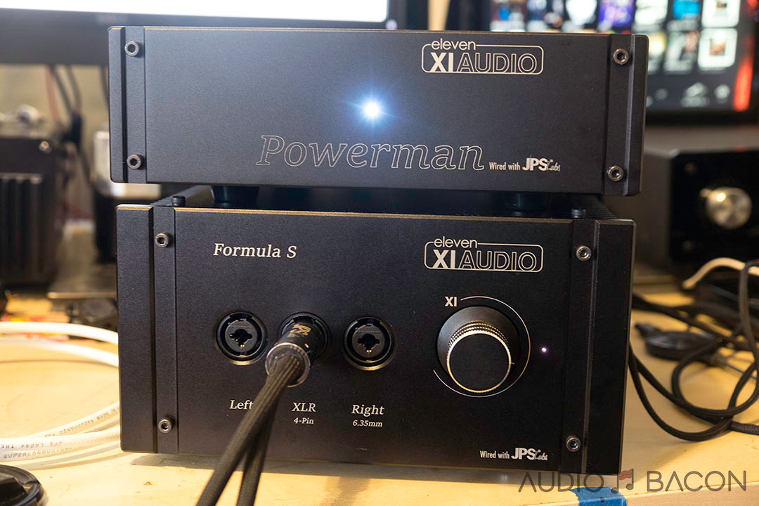 Eleven XI Audio Formula S Headphone Amplifier and PowerMan Review