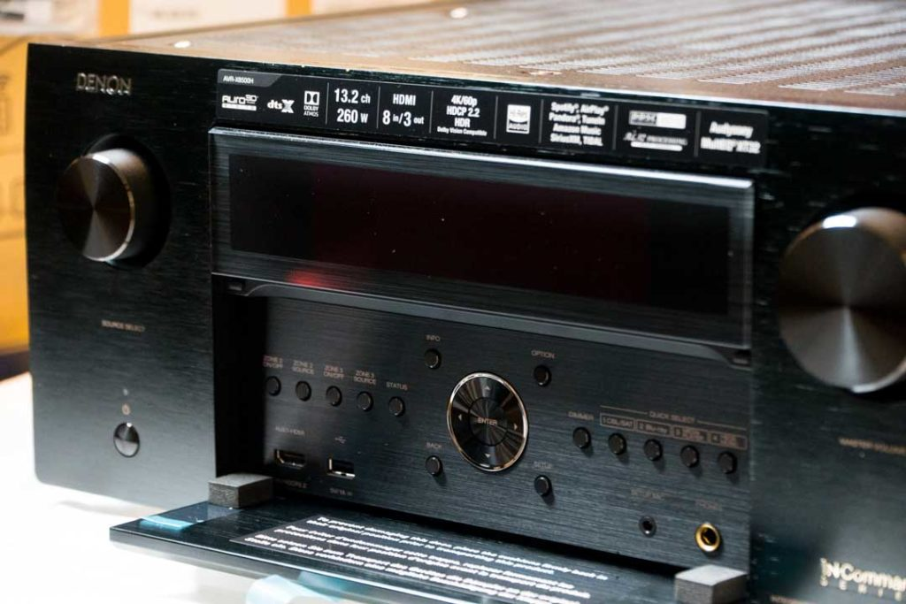 Denon 13 2-Channel Flagship AVR-X8500H Receiver Review – An