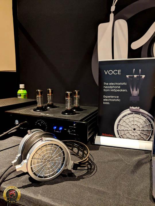 MrSpeakers VOCE Electrostatic heeadphones
