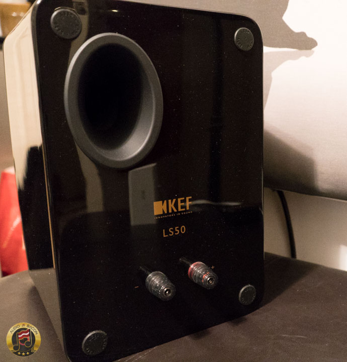 KEF LS50 Rear View