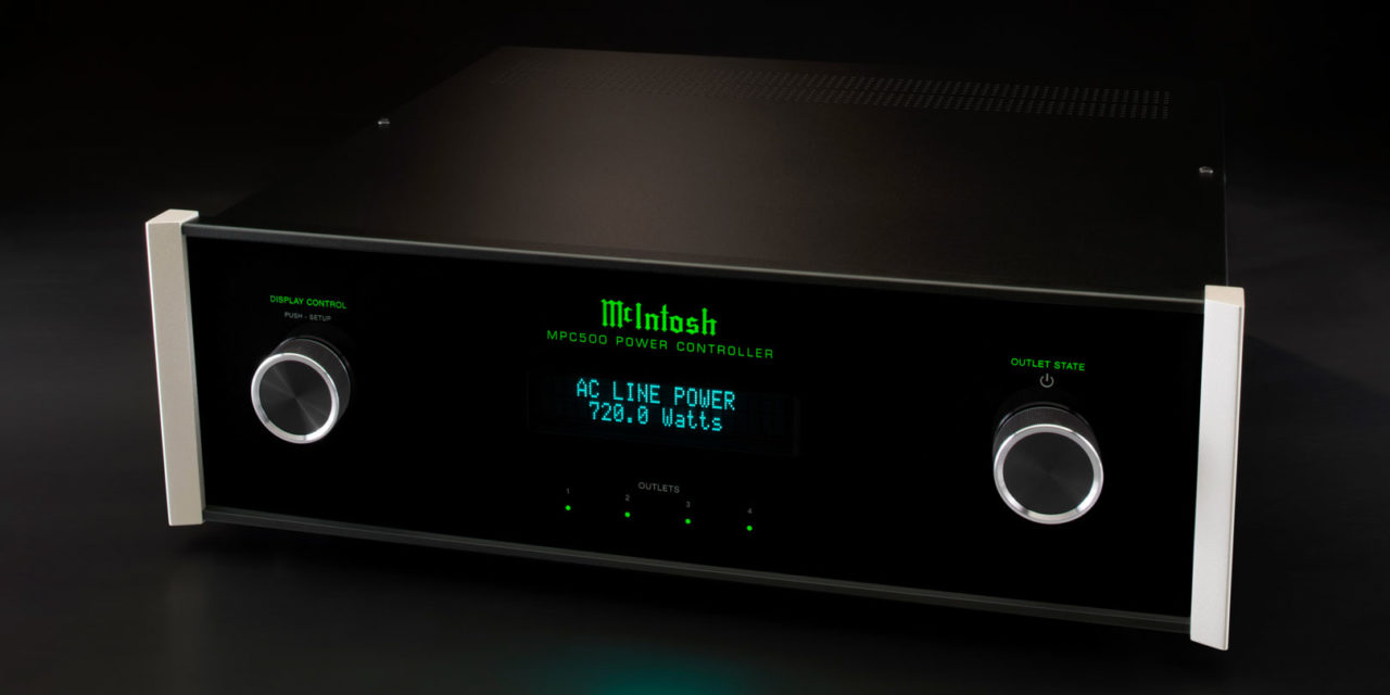 McIntosh's NEW MPC500 Power Controller