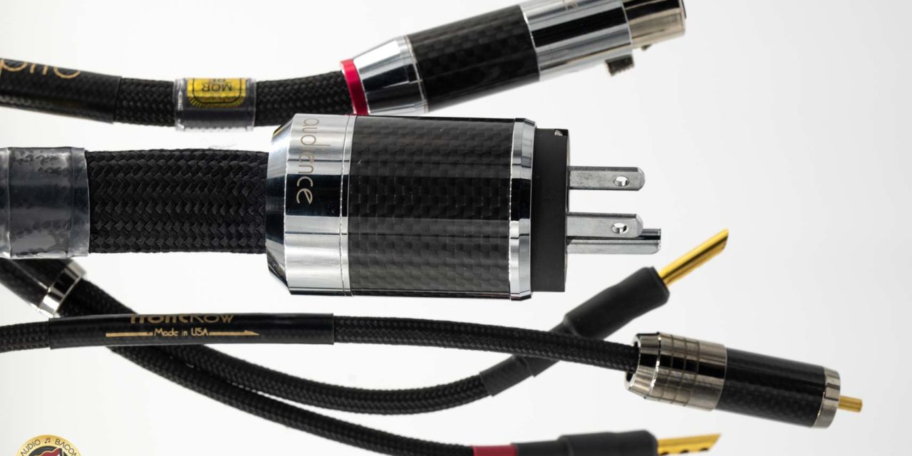 Audience frontRow Audio Cables Review
