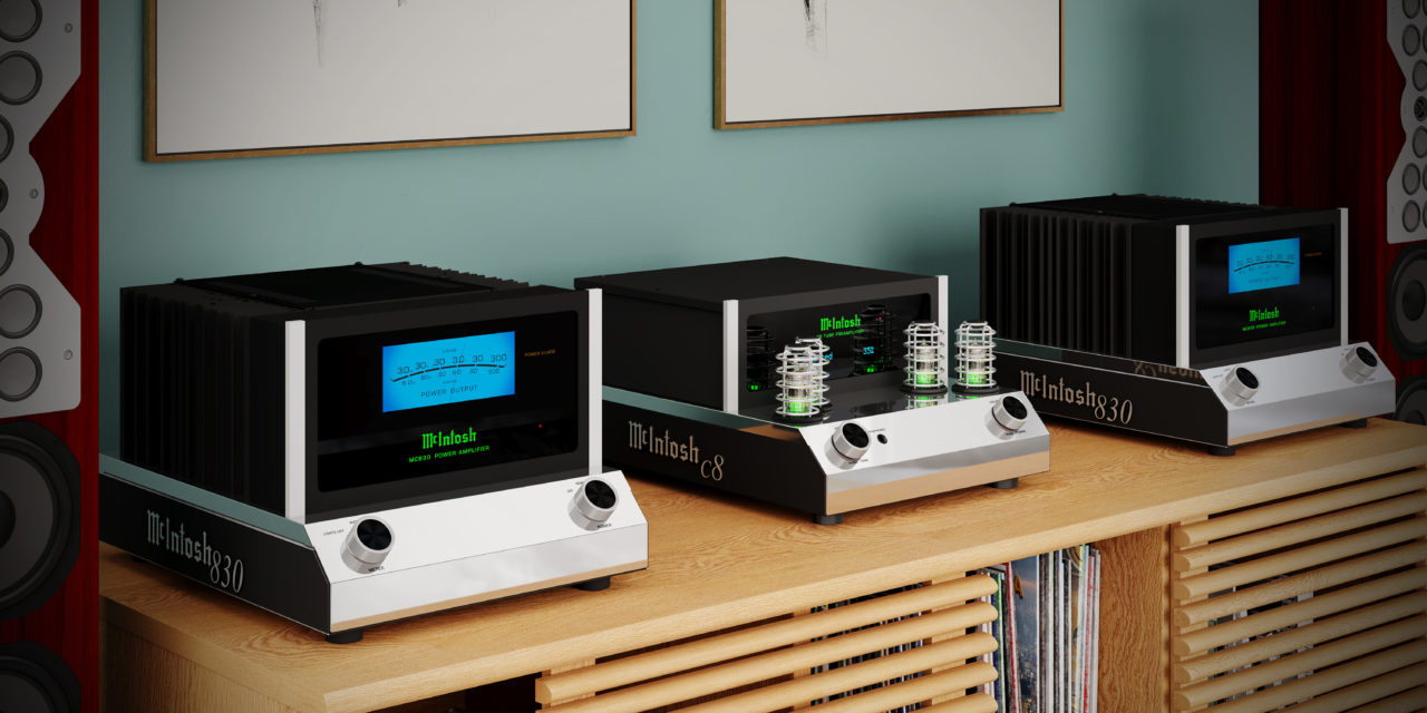 Introducing the New McIntosh C8 and MC830